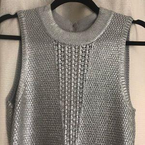 Ark & Co sliver crochet dress